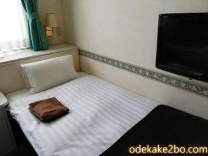 ホテル三番町の部屋in松山道後温泉